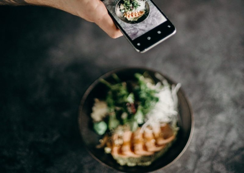 food cooked at home and sold on social media